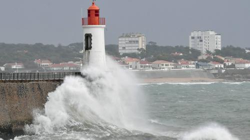 DIRECT. Des vents de plus de 100 km/h et de la neige en Bretagne : la tempête Gabriel frappe le littoral atlantique