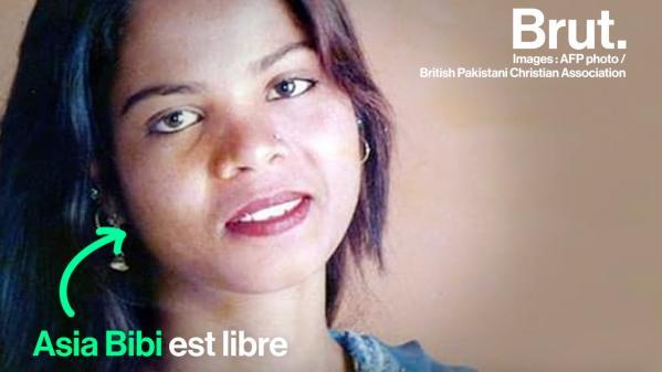 VIDEO. Pakistan : Après 8 ans d'emprisonnement pour blasphème, Asia Bibi est enfin acquittée
