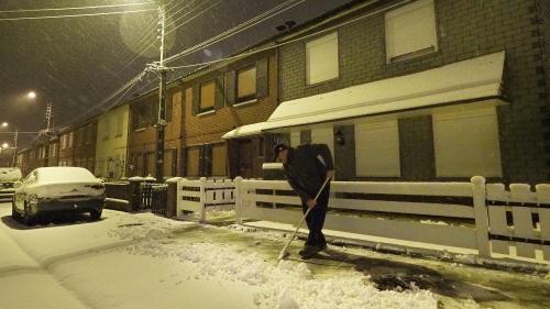 EN IMAGES. Tempête Gabriel : les internautes découvrent la neige au réveil