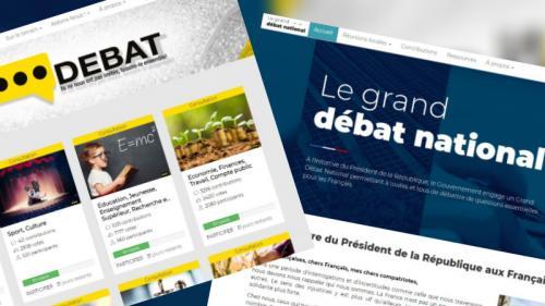 """""""Grand débat"""" contre """"vrai débat"""" : les cinq différences entre la plateforme du gouvernement et celle des """"gilets jaunes"""""""