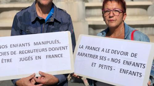 """Retour d'enfants de jihadistes français : """"J'espère, en tant que grand-mère, les serrer dans mes bras"""""""