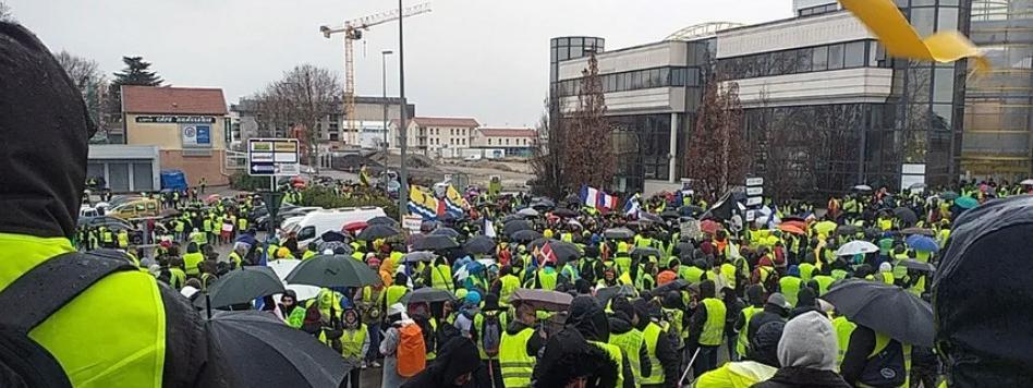 """""""Gilets jaunes"""" : Valence transformée en """"ville morte"""""""