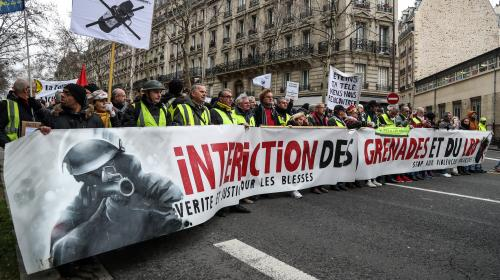 """""""Marche des blessés"""", dénonciation des violences policières, Doc Gyneco : ce qu'il faut retenir du douzième samedi de mobilisation des gilets jaunes"""