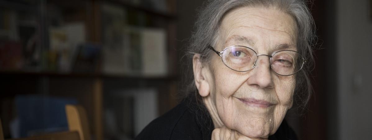Josette Audin le 12 juin 2018.