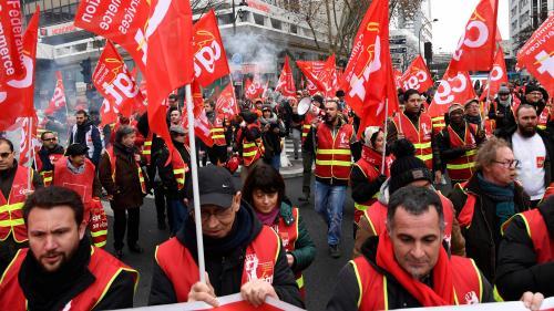 Manifestations, perturbations dans les transports et les écoles… A quoi va ressembler la journée de grève de mardi ?