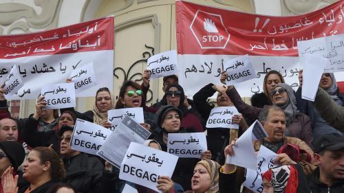En Tunisie, des lycéens font grève pour pouvoir passer leur bac