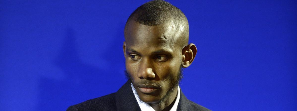 Lassana Bathily reçoit la nationalité française, le 20 janvier 2015, à Paris.