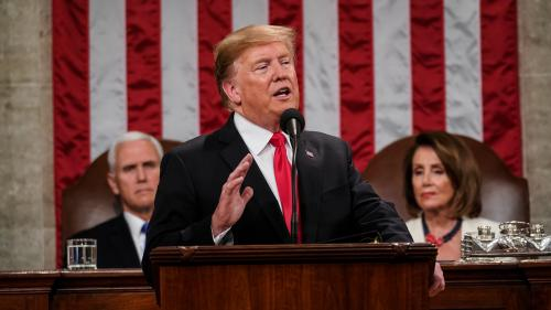 """Etats-Unis : Donald Trump réclame au Congrès des """"compromis"""", mais insiste sur la construction de son mur"""