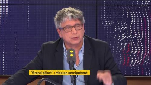 """Votation citoyenne de Benoît Hamon : """"C'est non parce que c'est une non-proposition"""", estime le député LFI Éric Coquerel"""