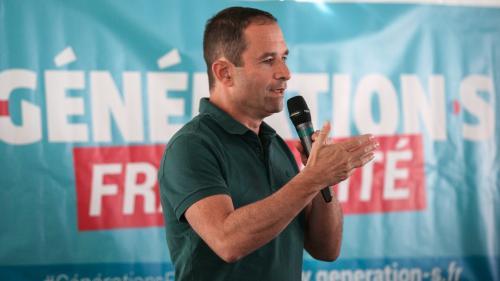 """Elections européennes : Benoît Hamon propose une """"votation citoyenne"""" pour créer une liste d'union de la gauche"""