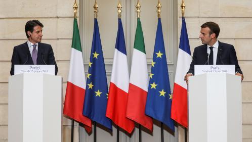 """Tensions diplomatiques entre Paris et Rome: """"La France renvoie une image arrogante en Italie"""""""