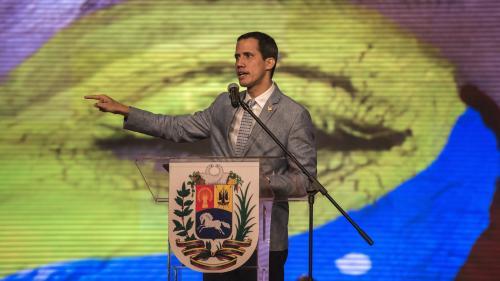 Venezuela : Juan Guaido n'écarte pas une intervention militaire des Etats-Unis si nécessaire