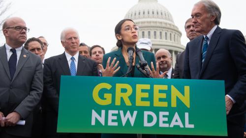 """""""La génération verte s'est levée"""" : des démocrates américains dévoilent un ambitieux plan environnemental"""