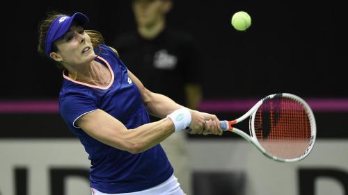 Tennis : Alizé Cornet donne l'avantage aux Bleues qui mènent 2-0 face aux Belges en Fed Cup