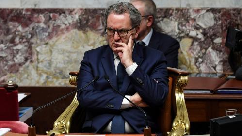 Richard Ferrand, le président de l'Assemblée nationale, opposé à un référendum le jour des élections européennes
