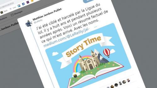"""""""C'est un juste retour de bâton"""" : victime de """"La Ligue du LOL"""", Matthias Jambon-Puillet a fini par dénoncer ses harceleurs"""