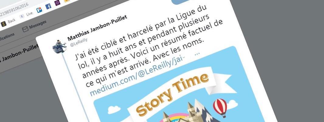 """Ligue Du LOL: """"C'est Un Juste Retour De Bâton"""" : Victime De """"La Ligue Du"""