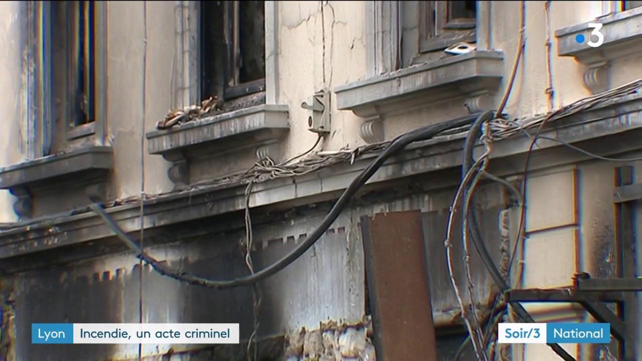 nouvel ordre mondial | Lyon : un incendie meurtrier sans doute criminel