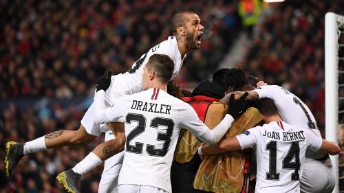 Ligue des champions : le PSG prend une sérieuse option pour la qualification en dominant Manchester en 8es de finale (2-0)