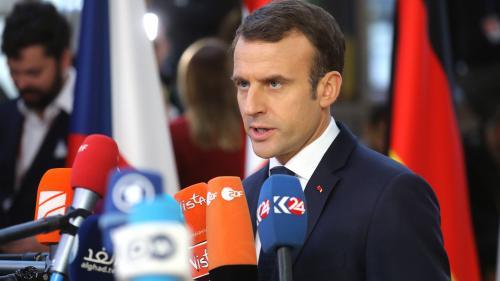 """Grand débat : 55% des Français jugent Emmanuel Macron """"trop présent dans les médias"""" mais son image s'améliore, selon un sondage"""