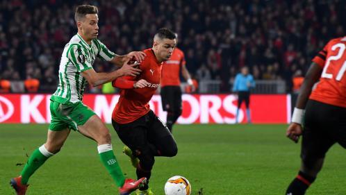 Ligue Europa : Rennes repris de justesse à domicile par le Betis Séville (3-3)