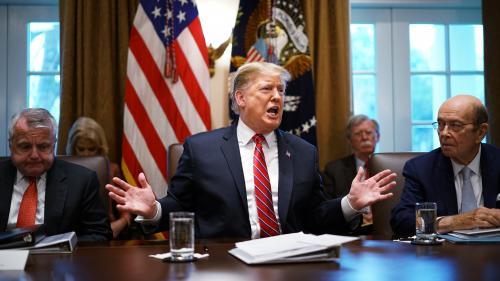 Donald Trump a déclaré l'urgence nationale pour construire son mur à la frontière mexicaine