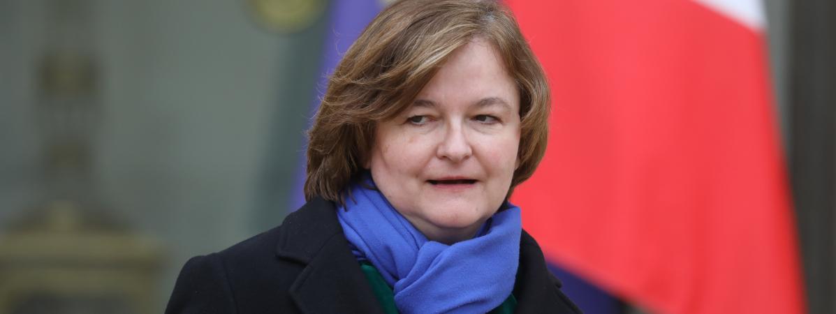 La ministre chargée des Affaires européennes Nathalie Loiseau, le 6 février 2019 au palais de l\'Elysée.