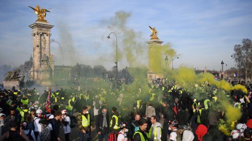 """""""Gilets jaunes"""" : 41 500 manifestants dans toute la France, dont 5000 à Paris, selon le ministère de l'Intérieur"""