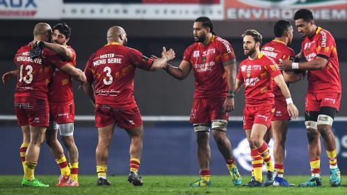 Rugby : après 15 défaites, Perpignan savoure enfin sa première victoire de la saison
