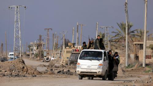 """Syrie : un responsable kurde appelle les Européens, et en particulier la France, à ne pas les """"lâcher"""""""