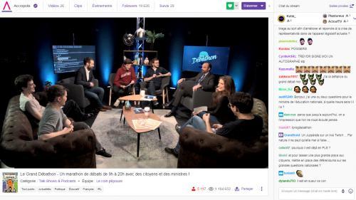 Grand débat national : trois questions sur Twitch, la plateforme choisie par le gouvernement pour impliquer les jeunes