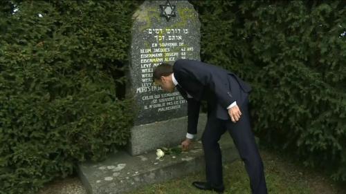 DIRECT. Antisémitisme : Emmanuel Macron s'est recueilli dans le cimetière juif profané en Alsace