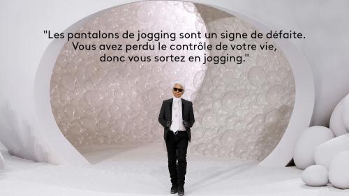 """EN IMAGES. """"J'ai horreur de regarder la laideur"""" : le franc-parler de Karl Lagerfeld en onze citations"""