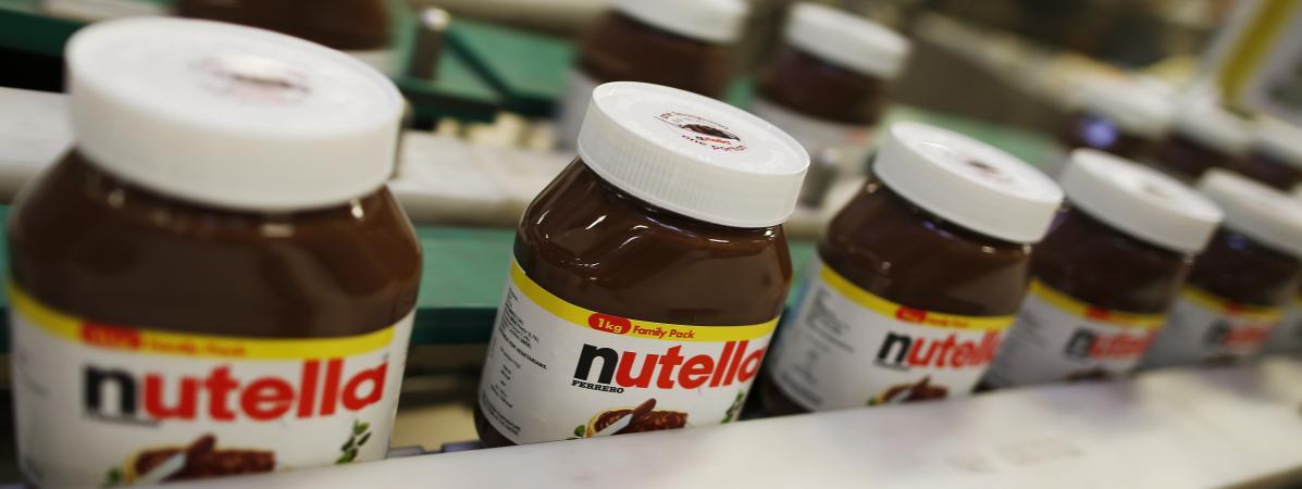 La plus grosse usine de Nutella au monde à l'arrêt en raison d'un «défaut de qualité»