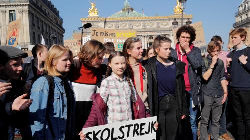 DIRECT. Climat : l'activiste Greta Thunberg à Paris pour la deuxième mobilisation des jeunes contre le réchauffement climatique