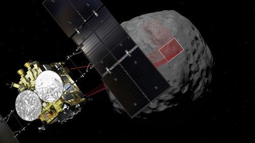 La sonde japonaise Hayabusa2 se pose sur un astéroïde à 300 millions de kilomètres de la Terre pour étudier la formation du système solaire
