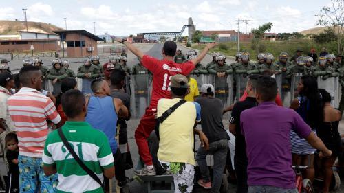 Venezuela : deux morts dans des affrontements avec l'armée à la frontière avec le Brésil