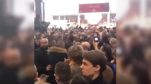 Non, cette vidéo de huées contre Emmanuel Macron n'a pas été tournée cette année au Salon de l'agriculture