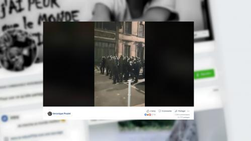 """""""Gilets jaunes"""" : des policiers se sont-ils battus lors d'une manifestation à Toulouse ?"""