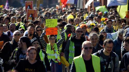 """""""Gilets jaunes"""" : quatorze manifestants blessés par la police portent plainte à Toulouse"""
