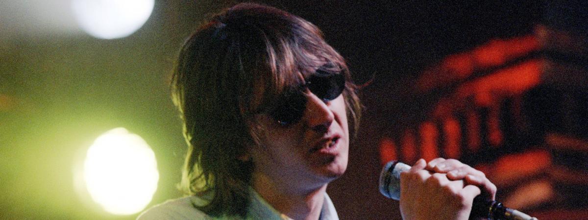 Le chanteur de Talk Talk, Mark Hollis, en juin 1986.