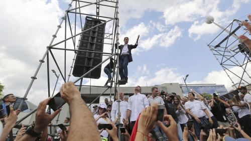 VIDEO. De retour au Venezuela, l'opposant Juan Guaido appelle à de nouvelles manifestations