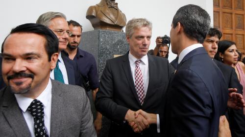 """Le Venezuela expulse l'ambassadeur d'Allemagne, accusé d'""""ingérence"""""""
