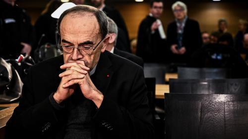 Pédophilie dans l'Eglise : le cardinal Barbarin condamné à six mois de prison avec sursis pour non-dénonciation d'abus sexuels