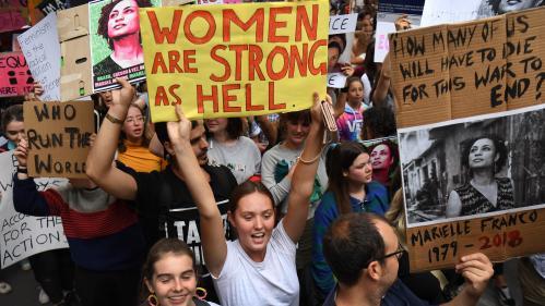 EN IMAGES. De Bagdad à Paris, tour du monde de la mobilisation pour la Journée internationale des droits des femmes