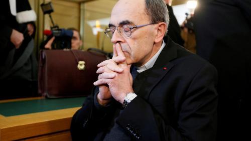 """Le cardinal Barbarin comptait démissionner """"quel que soit"""" le jugement, selon son adjoint"""