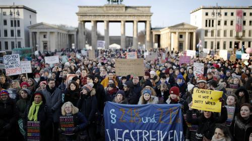 """Journée internationale des droits des femmes : un jour férié inédit à Berlin car """"l'égalité n'est pas là"""""""
