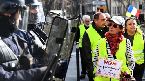 """DIRECT. """"Gilets jaunes"""": 28 600 manifestants en France selon le ministère de l'Intérieur, total le plus bas depuis le début du mouvement"""