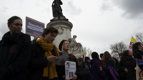 Droits des femmes : plusieurs milliers de personnes ont manifesté en France pour le 8 mars