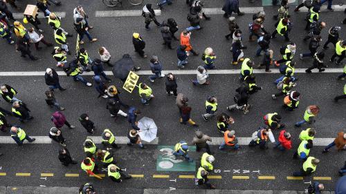 """""""Gilets jaunes"""" : une mobilisation au plus bas, une semaine avant la fin du grand débat"""